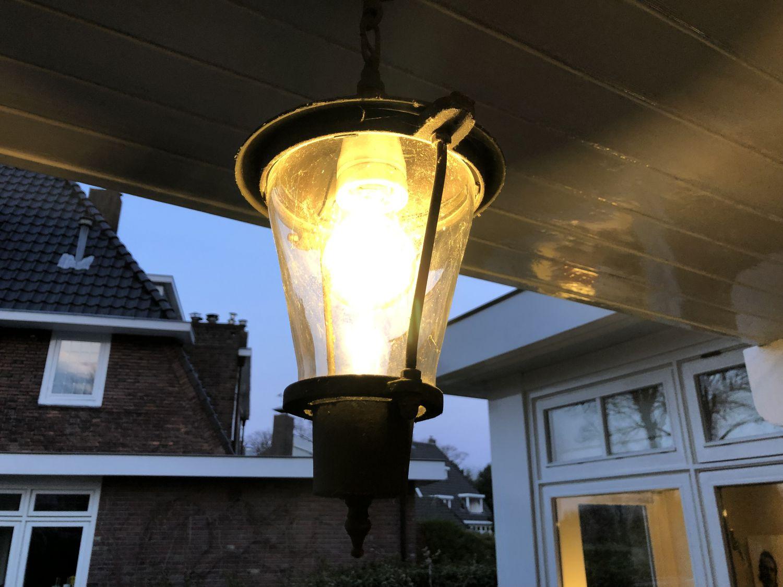 Gebruik spaarlampen met een sensor